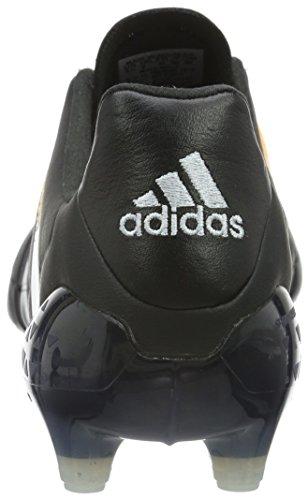 adidas Ace 16.1 FG/AG Leather - Chaussures de Foot - Homme Noir (Core Black/Silver Met./Solar Gold)