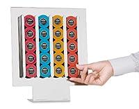 Dispenser Portacapsule A MODO MIO - Macom_834 Descrizione Linee essenziali e geometrie contemporanee per il modello Dispenser 20 della linea MIRROR COFFEE. Di grande impatto visivo, in acciao cromato lucido, permette di sistemare le capsule ...