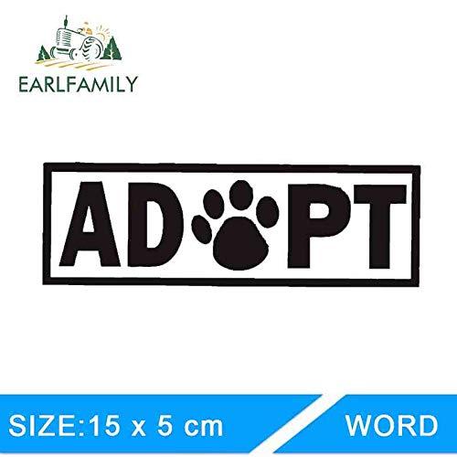 BJDKF 15cm x 5cm Auto Aufkleber nehmen Tatze Aufkleber Vinyl Aufkleber Hund Katze Haustier Welpe Tier Autofenster Herz Rettungswagen Styling grau