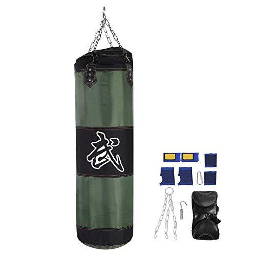 VGEBY1 Saco de Boxeo, Guantes de Boxeo MMA Muay Thai Kick Boxing Artes Marciales con Soporte Pared Cadena...