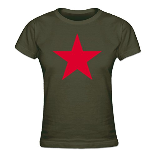 Shirtcity Roter Stern Frauen T-Shirt by