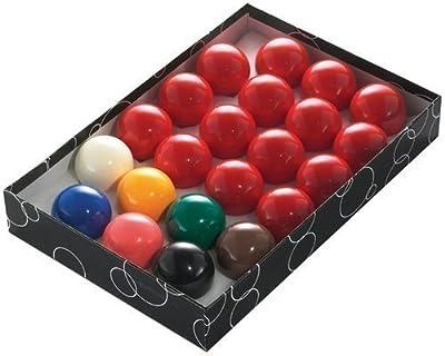 Powerglide - Juego de bolas de snooker, 5,2cm, 22 piezas