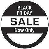 500 - Runde 45mm - Black Friday Angebotspreis Aufkleber / Etikett / Etiketten