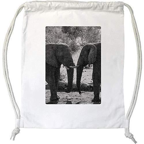 Azeeda 'Elefantes' Cordón / Bolsa de Gimnasio (DB00001994)