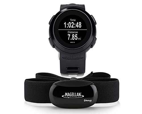Magellan Echo - Reloj deportivo (incluye banda torácica) color negro