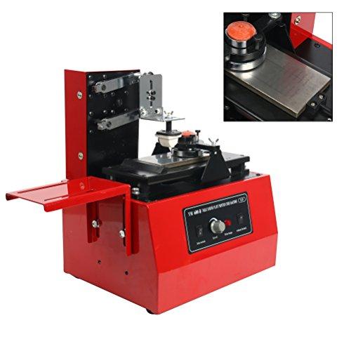 Yaetek Pad imprimante imprimante automatique de Pad de bureau machine Ym600-b 230V électrique machine d'impression de déplacement d'encre d'impression t-shirts Balles stylos lumières etc.
