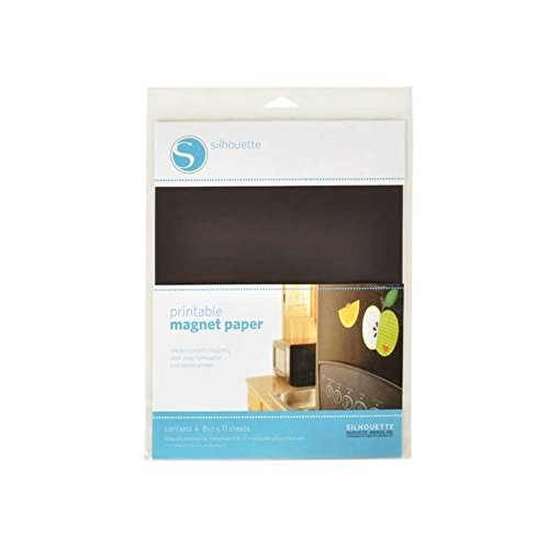 "Preisvergleich Produktbild Silhouette Printable Magnet Paper 8.5""X11"" 4/Pkg-"