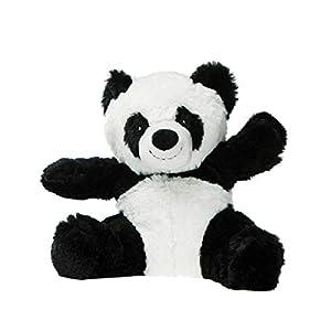 PELUCHO Panda - Botella de Agua, Color Negro y Blanco