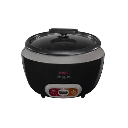 41jrl8gfnhL. SS500  - Tefal RK1568UK Cool Touch Rice Cooker, (20 Portions), 700 W, 1.8 Litre, Black