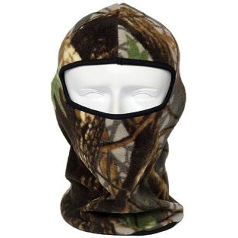 NEW Camo Moto Passamontagna Scaldacollo in pile termico maschere Outdoor Sport Ciclismo Cap antivento inverno sci Full Face Mask, 5