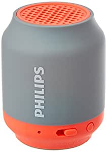 Philips BT50G Portable Wireless Bluetooth Speaker, Grey