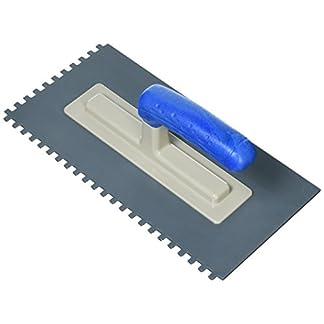Con: P cp781295paleta llana dentada de plástico, rojo/gris, 280x 130mm/6x 6mm