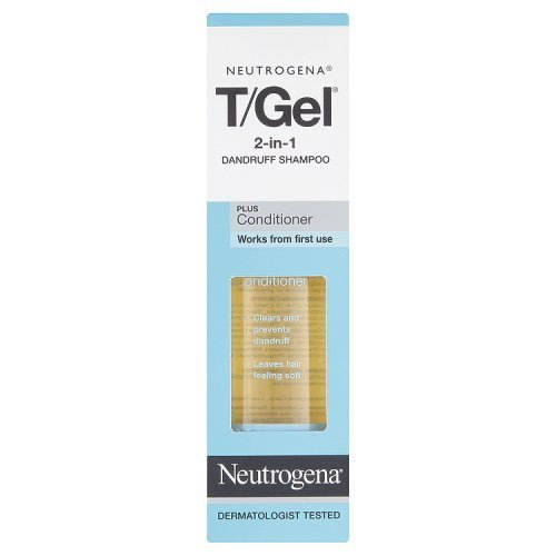 Neutrogena T/Gel 2 in 1 Dandruff Shampoo 250 ml