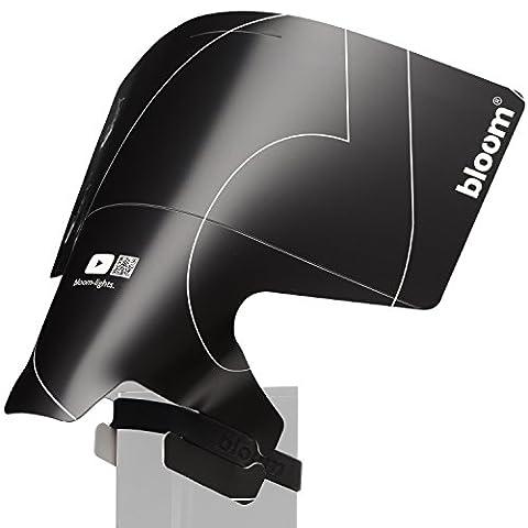 Blitz Diffusor positionierbarer Reflektor BLOOM-LIGHTS BOUNCER Universal für Nikon Canon Sony
