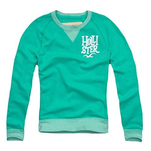 hollister-mens-northside-sweatshirt-button-up-size-l-green-608186157