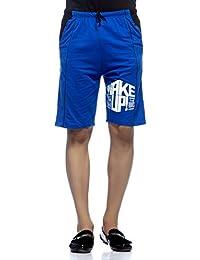 Demokrazy men's Royal Printed Shorts