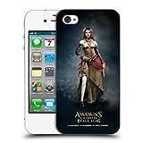 Head Case Designs Offizielle Assassin's Creed Anne Bonny Schwarze Fahne Darsteller Ruckseite Hülle für iPhone 4 / iPhone 4S