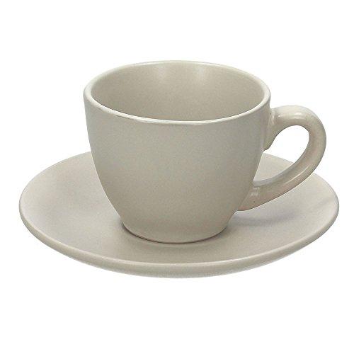 Tognana rl185010889Service Kaffee Tassen Rustical, Keramik, Beige/Matt, 12Einheiten