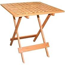 Jardín Plegable de Bambú–Pequeño jardín mesa/mesa auxiliar