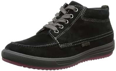 Gabor Shoes 74.301.17, Damen Schnürhalbschuhe, Schwarz (schwarz/dunkelgrau), EU 37 (UK 4) (US 6.5)