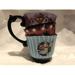 Alice in wonderland stacked mug by disney