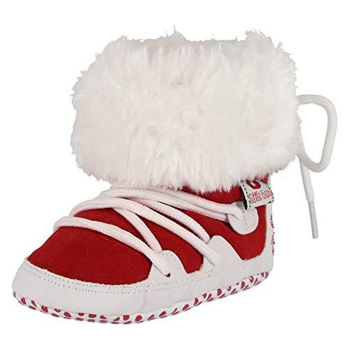 Krexus Winterschuhe für Baby Winter Krabbelschuhe Rot Gr. 12-18 Monate XB01903_12