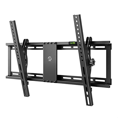 Famgizmo supporto da parete universale per tv 32-70 pollici, ±15° inclinabile, per il televisore a schermo piatto (led lcd plasma 4k 3d 1080p), max vesa 600x400, capacità 95kg
