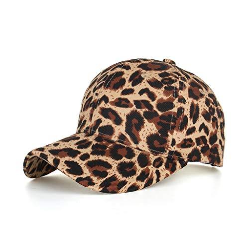 Imagen de  de béisbol unisex de algodón con diseño de leopardo clásico sombrero para el sol  ajustable de  para hombre mujer sombreros de verano  de camionero de hip hop