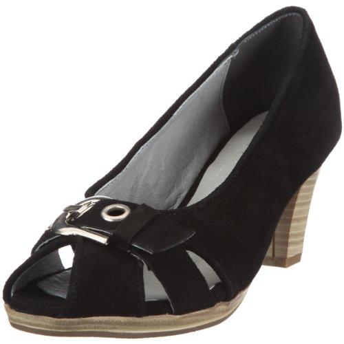 Andrea Conti 0591184, Scarpe eleganti donna Nero