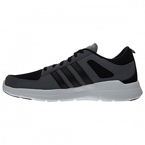 Adidas Neo X Lite Mens Running Shoe 9 Gris-noir-blanc Grey-Black-White
