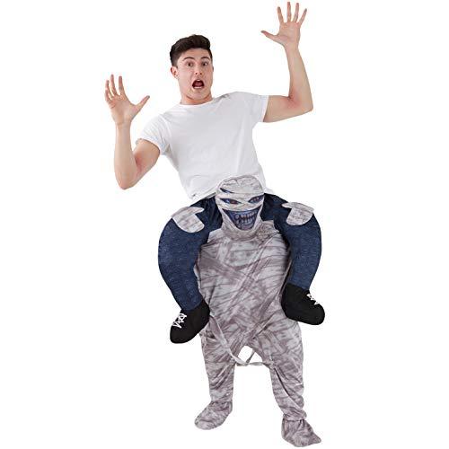 Halloween Mumie Kostüm - Morph MCPBMU Mach es selbst Füllung Halloween Karneval Huckepack Kostüm, Mumie, Einheitsgröße