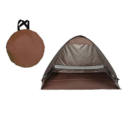 MISSMAO_FASHION2019 Pop-Up-Zelt,Beach Tent Portable Strandmuschel Wurfzelt,Familien Portable Beach Zelt Wasserdicht für Familien Aktivität,Outdoor,Strand Braun Einheitsgröße