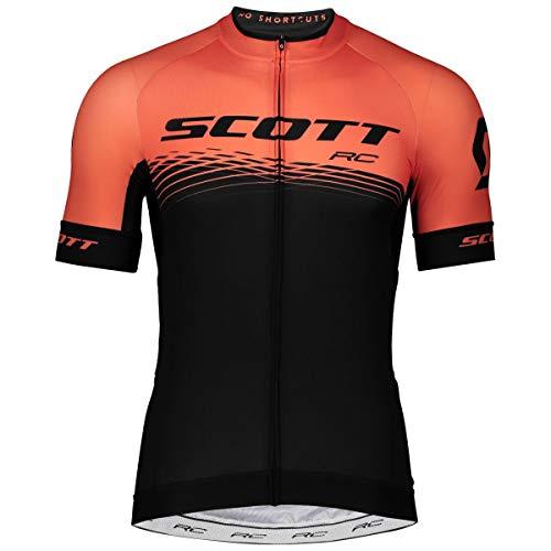 Scott RC Pro Fahrrad Trikot kurz schwarz/orange 2019: Größe: M (46/48) -