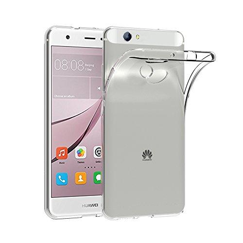 AICEK Huawei Nova Hülle, Transparent Silikon Schutzhülle für Huawei Nova 5.0 Zoll Case Ultra Crystal Clear Durchsichtige TPU Bumper Huawei Nova Handyhülle