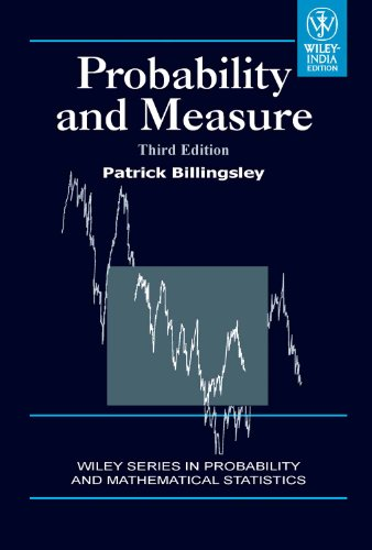 eBooks Free Library: Probability and Measure, 3rd Edition