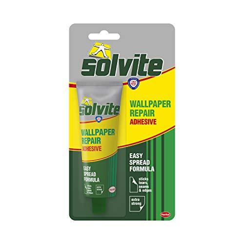 Solvite Tapeten-Reparatur-Klebstoff, selbstklebend, 56 g, Ref 1574678