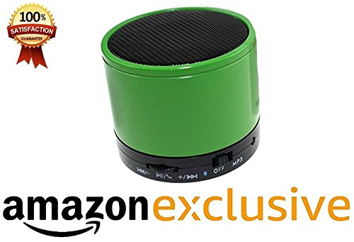 Mobile Link Maxwest Orbit Z50 Compatible Portable Bluetooth Rechargable Splash-proof Multimedia Wireless Speaker with LED Light, Mic, SD Card, Pen Drive Port, AUX Mode and FM Radio Lowest Price Assorted  available at amazon for Rs.599