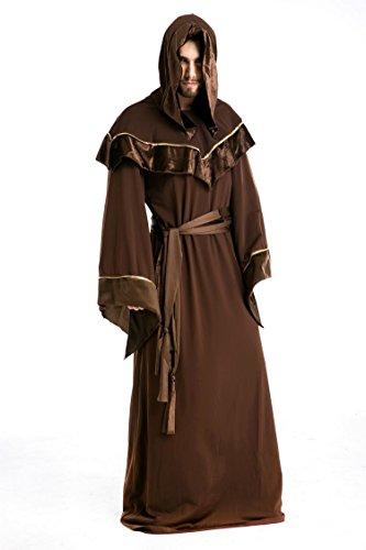Halloween Show Kostüme männlichen Erwachsenen Vampir Kleid Monster Maskerade Performance Kleidung Festival / Halloween / Weihnachten, XL