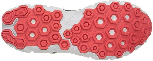 Reebok Hexaffect Run 4.0 MTM Synthetik Laufschuh Grey/Red/Steel