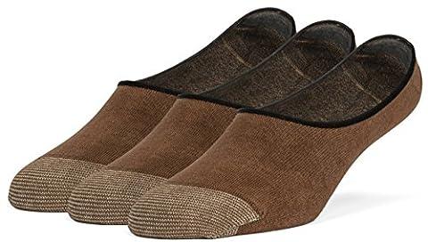 Galiva - Socquettes - Souple - Solid - Homme - marron - Large