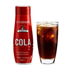 SodaStream Siroop Classic Cola - 440 ml - Speciaal Voor Bruiswatertoestellen - Zelf Cola maken - Goed voor 7 - 9 Liter Bruisende Frisdrank op Smaak - Duurzaam