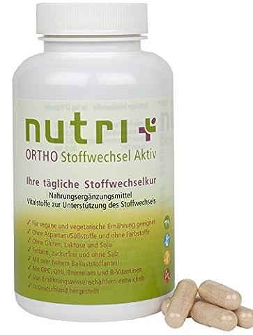 Stoffwechsel anregen und aktivieren mit Nutri-Plus Stoffwechsel Aktiv 360 Kapseln
