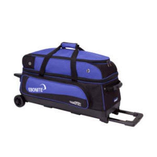 Ebonite Transport III Bowlingtasche, Schwarz/Blau (Bowling Bag Für Einen Ball)
