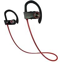 Auriculares Bluetooth 4.1, JIAMA Los mejores auriculares inalámbricos deportivos B15 In Ear con Micrófono Cascos