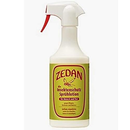 ZEDAN SP - Natürlicher Insektenschutz, 1000 ml Pumpspühflasche