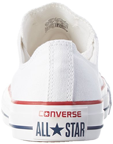 Converse Chuck Taylor All Star Saisonnier Ox, Unisexe Baskets Adulte Bianco