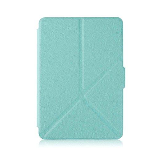 Custodia Kindle, Fulltime [Ultra Slim] [Peso leggero] magnetici auto sleep Custodia in pelle di vane portacomputer per 2016Kindle Paperwhite (settima generazione) 6pollici + pennino touch + Pellicola di protezione schermo HD