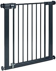Safety 1st Easy Close Metal Barrera de seguridad metalica para puertas y escaleras, Puerta de seguridad 80 cm