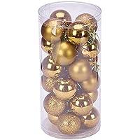 YARBAR Palla Ornamenti di Natale Exquisite palline