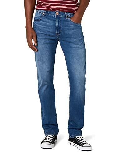 Wrangler Hombre ARIZONA-W12OMU9 Jeans, Blau (Bright Stroke 1Q), 32W / 32L - Damen Wrangler Jeans